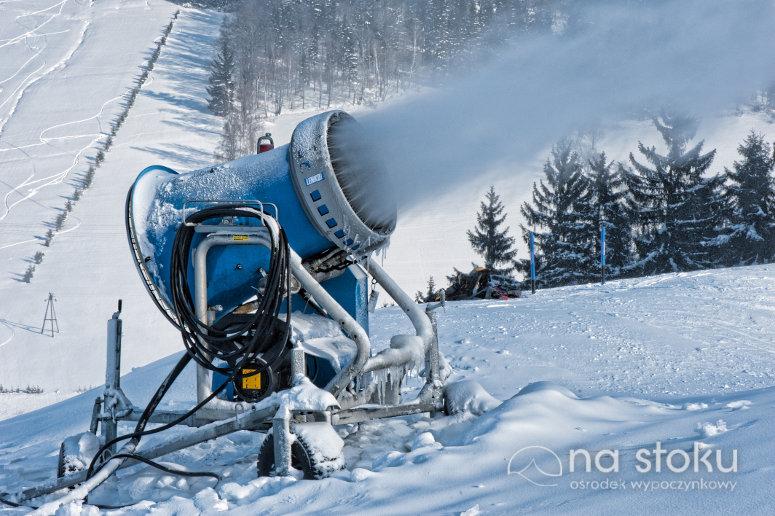 Naśnieżamy nasz stok narciarski
